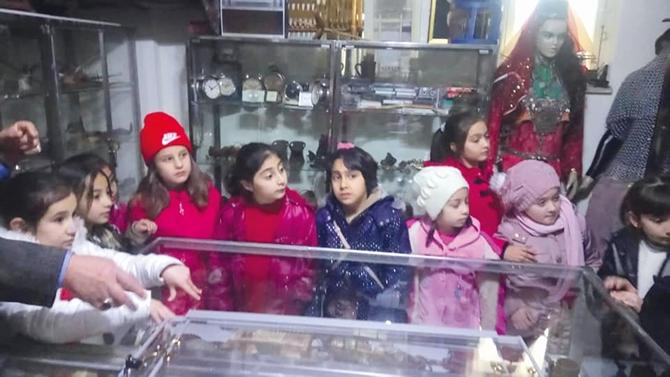 Minik Öğrenciler Müze Evini Gezdi