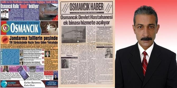 Osmancık'ta Gazeteler Haftalığa Döndü