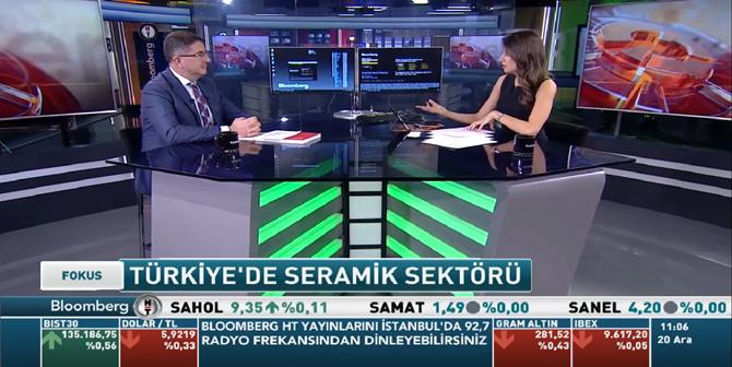 Türkiye'de Seramik Sektörünü Anlattı