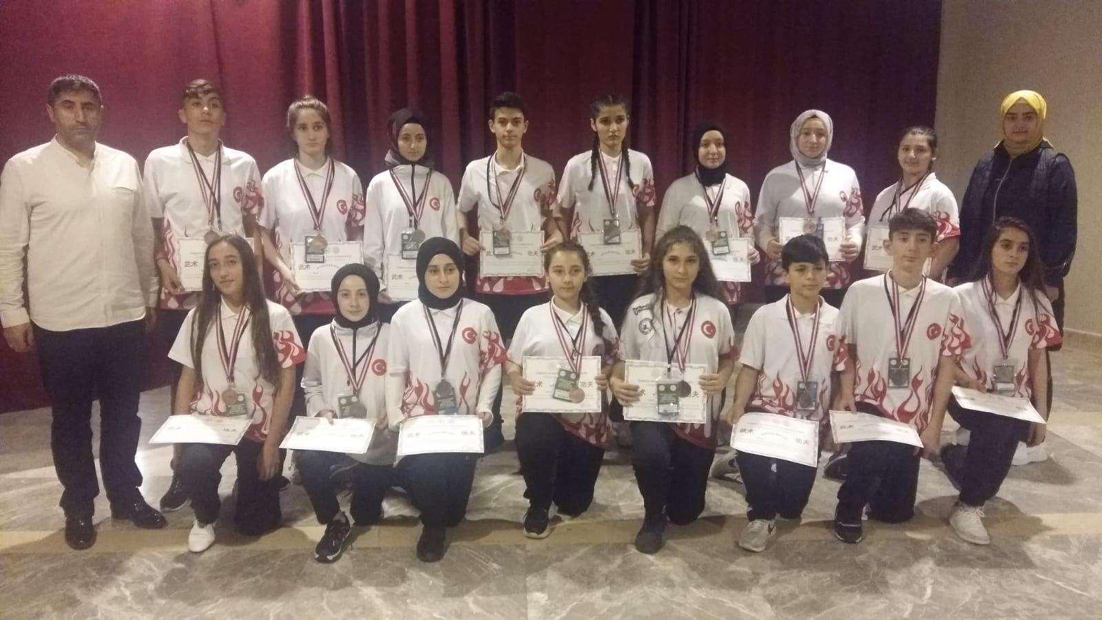 Çorumlu Sporcular 17 Madalya Kazandı