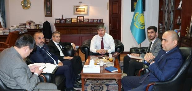 Kazakistan Yatırımlarına Hız Verdiler
