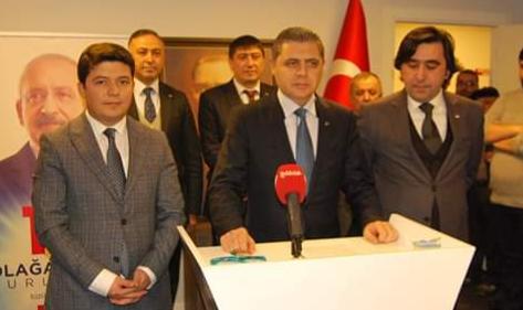 """""""CHP'yi İktidara Taşımak İçin Adayım"""""""