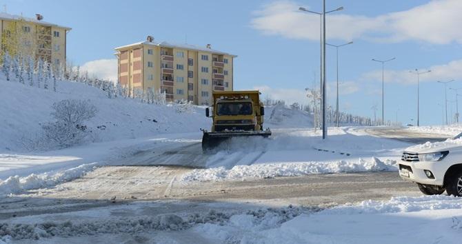 200 Köyün Yolu Kapandı