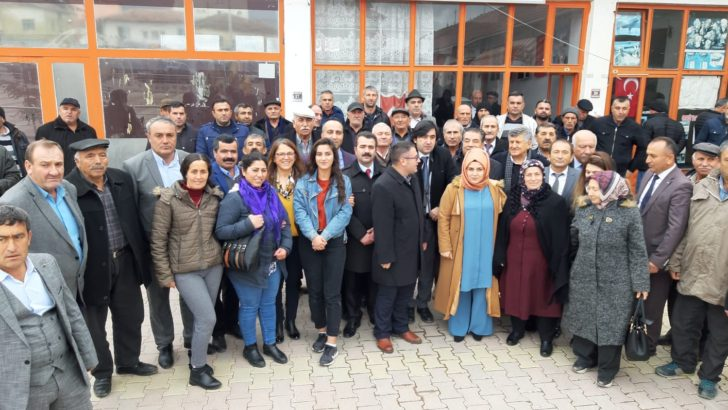 CHP Ortaköy'de Uzunca'ya Teslim