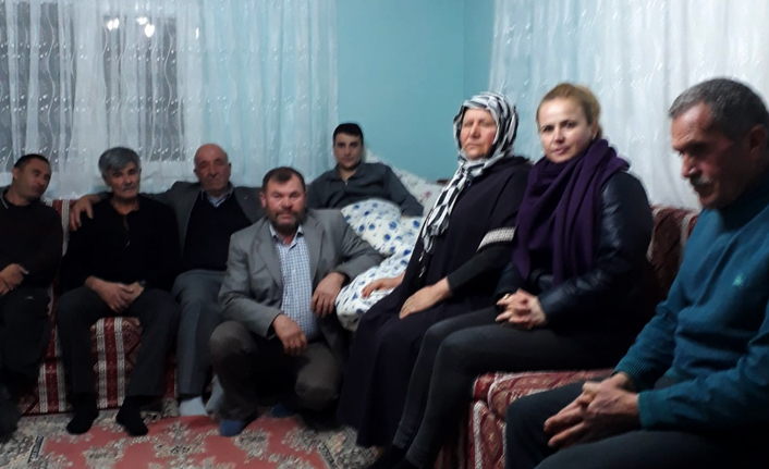 MHP'den Gaziye Geçmiş Olsun Ziyareti