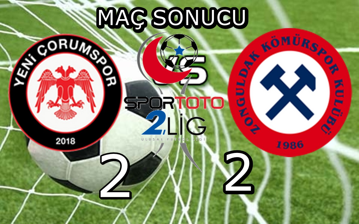 Çorum FK Tat Vermiyor :2-2