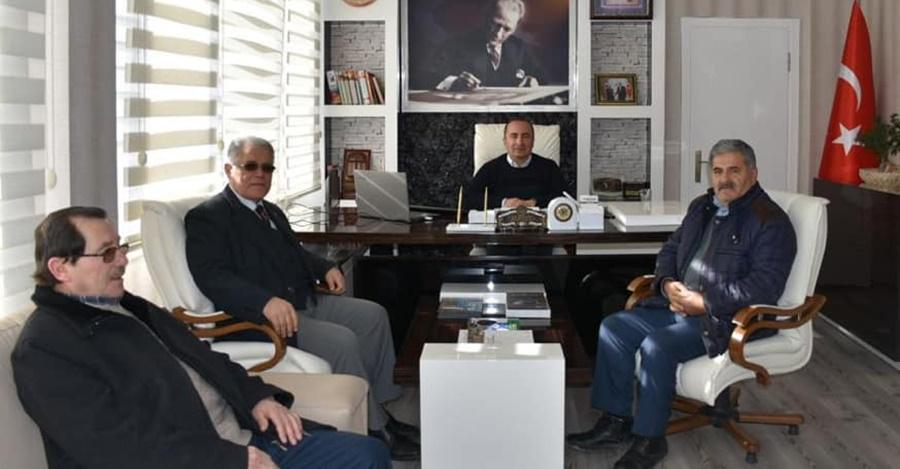 CHP'den Başkan Sülük'e Nezaket Ziyareti