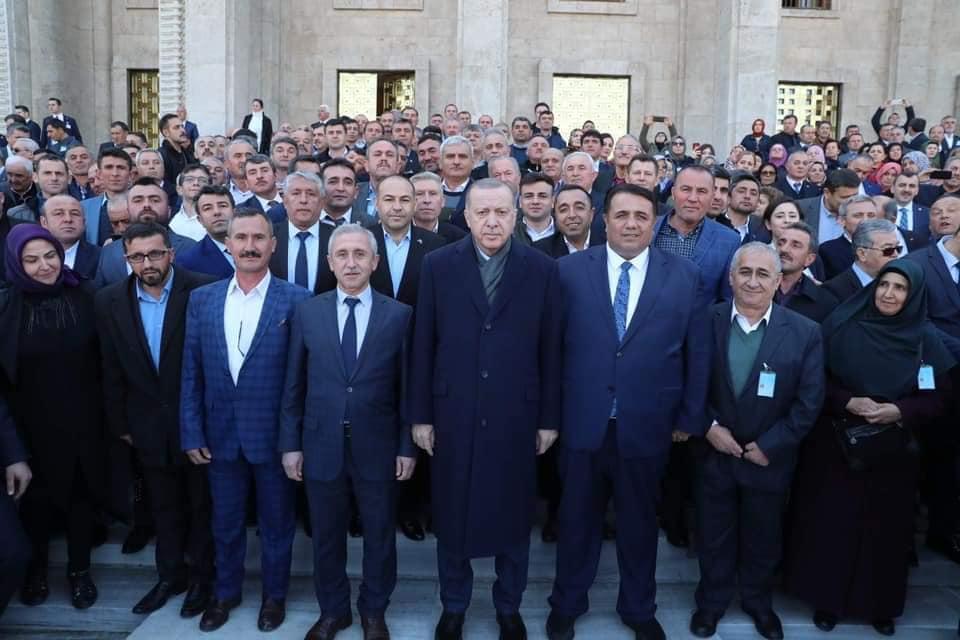 Osmancık Muhtarları AK Parti Grup Toplantısına Katıldı