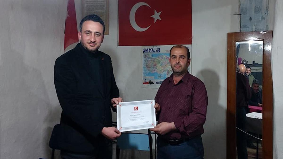 Y. Refah Partisi, Elmalı Köyüne Temsilci Atadı