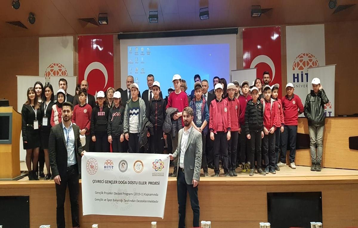 Hitit Üniversitesi'nde Çevreci Gençler Yetişiyor