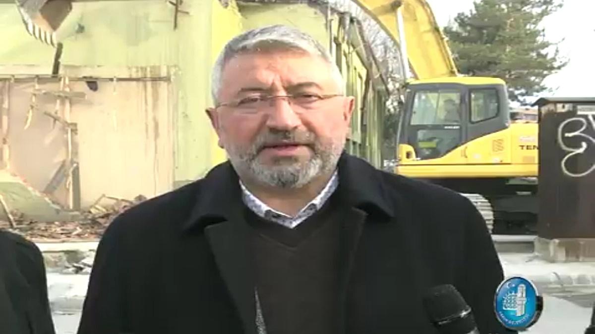 BİLSEM Binası Yıkıldı