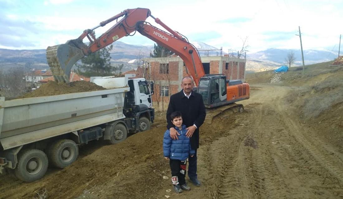 Aşdağul'da Yol Düzenleme Çalışmaları