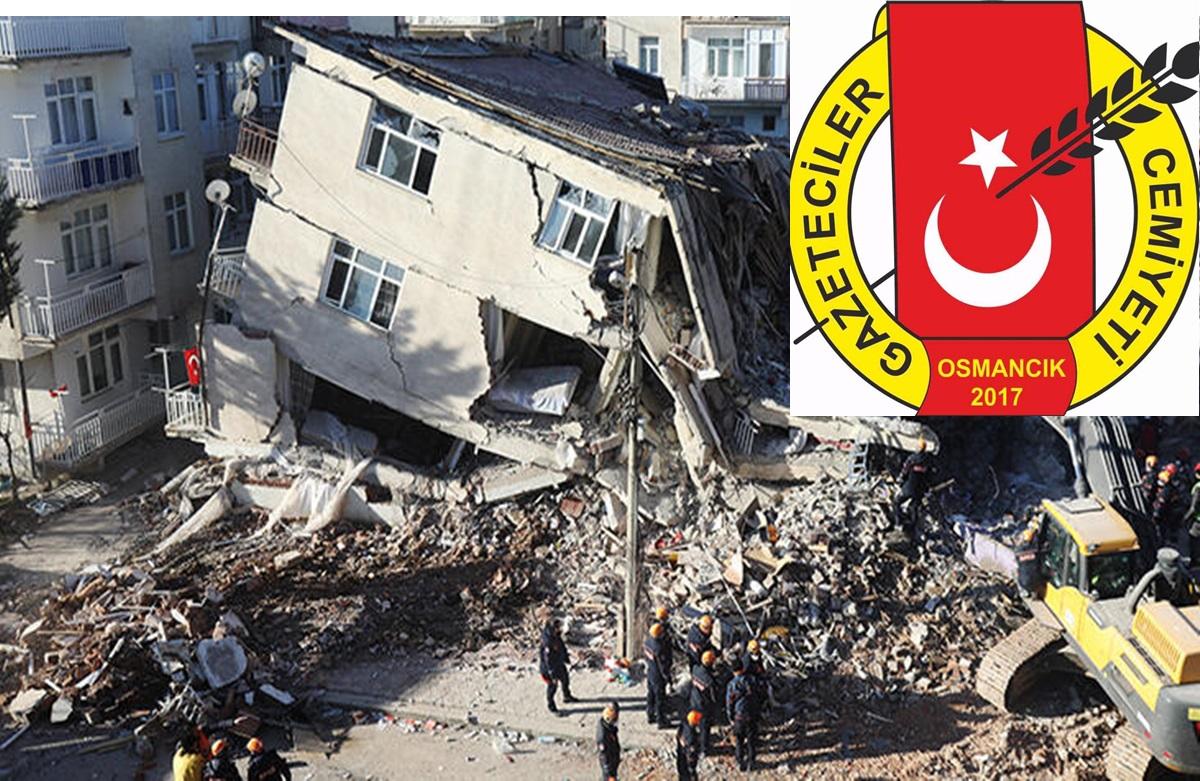 Depremzede Meslektaşlarına  Nakdi Yardım