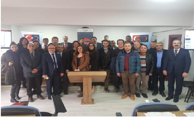 Erasmus Programları İçin Bilgilendirme Yapıldı