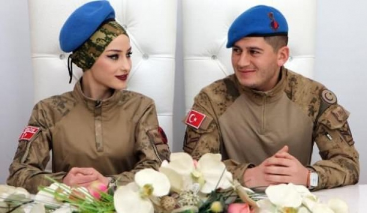 Asker Nikahı Böyle Olur