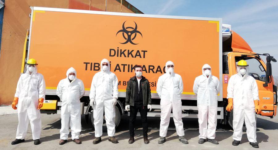 Tıbbi Atıklara Koronavirüs Önlemi