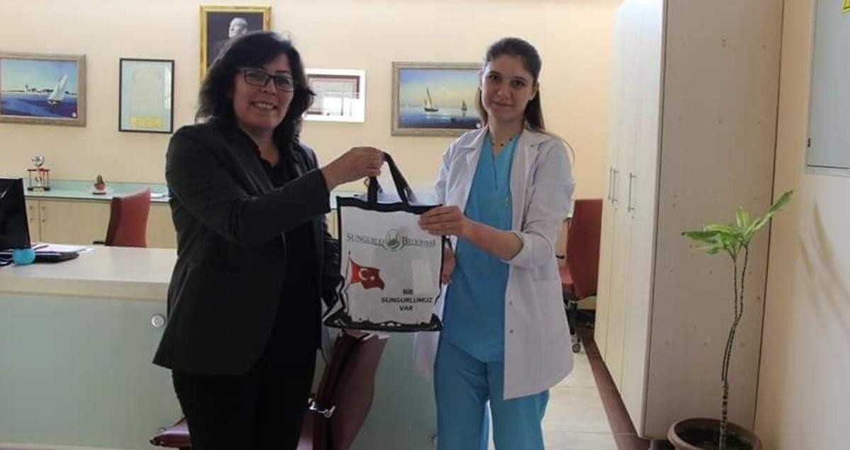 Sağlık Çalışanlarına İkram Paketi
