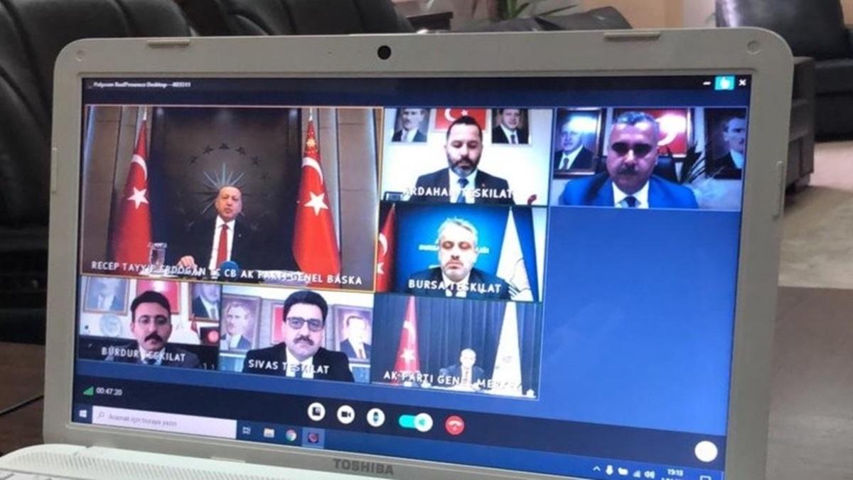 Ahlatcı, Cumhurbaşkanı Erdoğan İle Görüştü