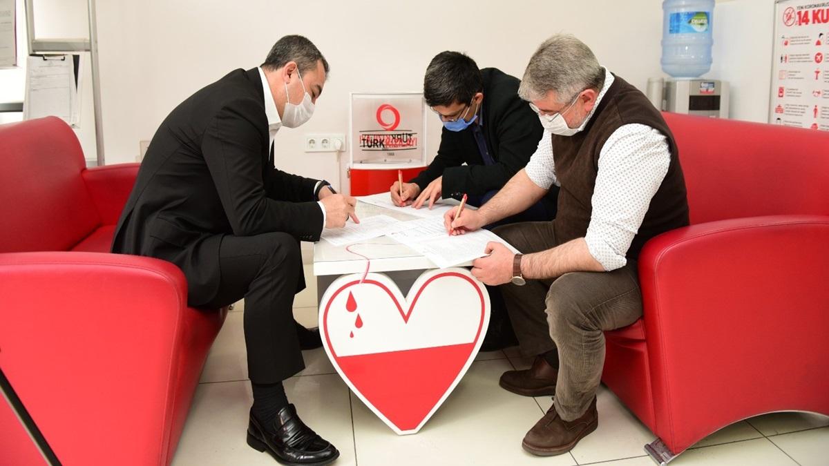 Kan Bağışı İçin Seferber Oldular