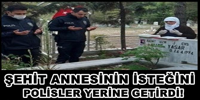 Polis, Şehit Annesini Kırmadı