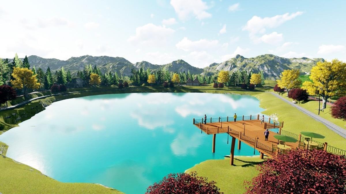 Yeşil Göl Turizme kazandırılıyor